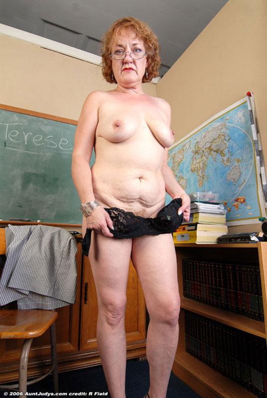 Auntjudys mature teacher