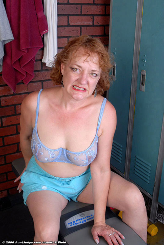 Naked mature women grey