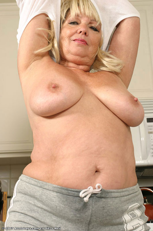 Much prompt Chubby blonde housewife