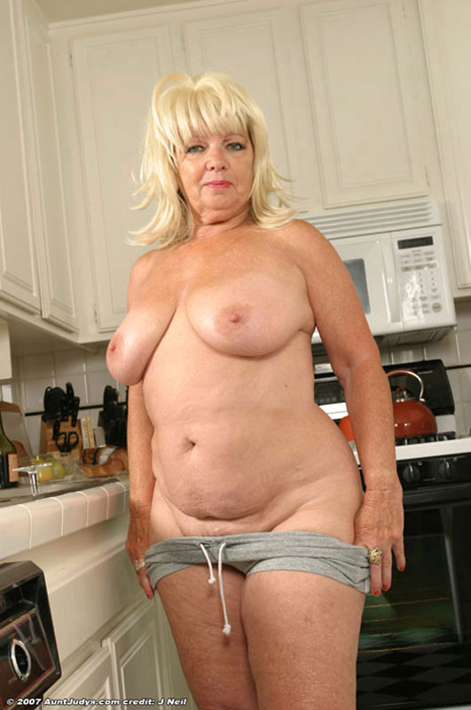 With you blonde chubby hairy mature