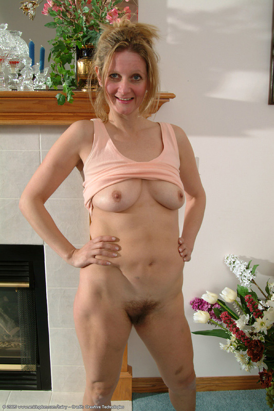 Mature Hairy Pussy Saggy Tits