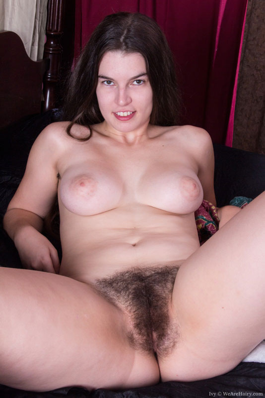 Hairy sillicia wakes and fingers her hairy pussy 2