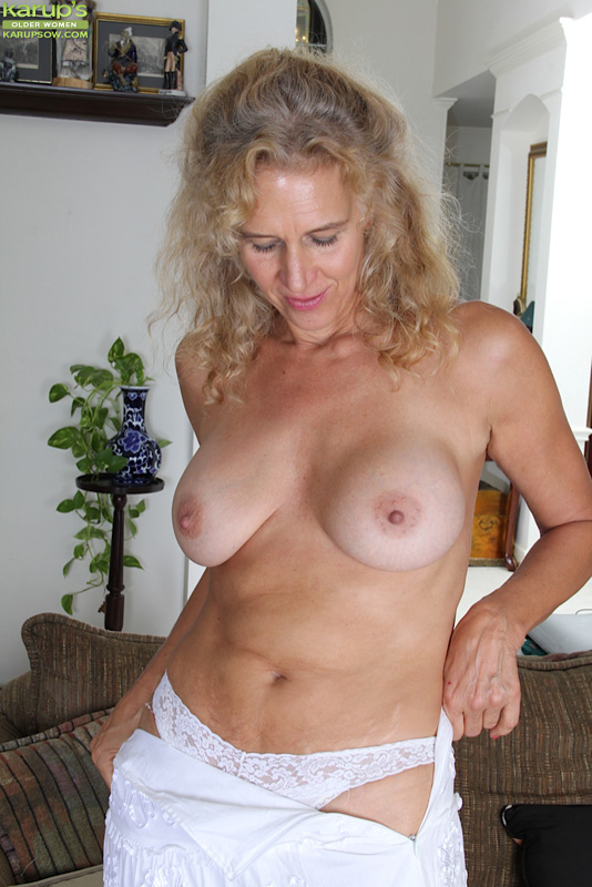 53 year old granny fucks her old pussy with a dildo - 3 part 2
