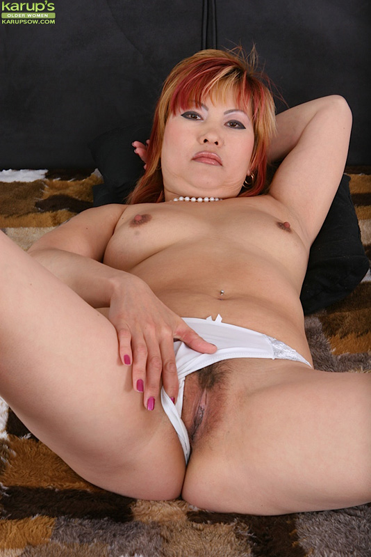 Older asian pussy