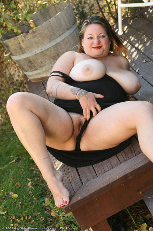 Chubby fat bbw mature amateur wives outdoors pity, that