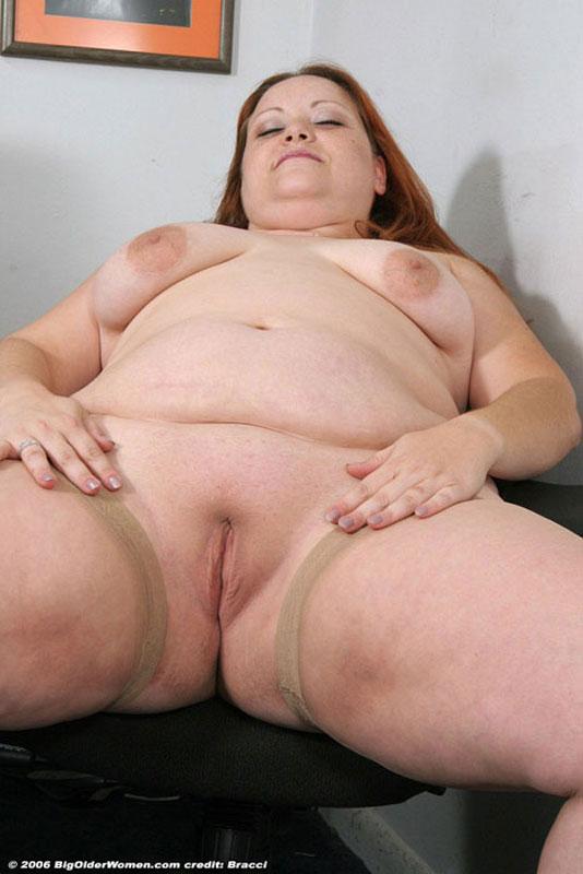 фото голой целлюлитной толстой старухи