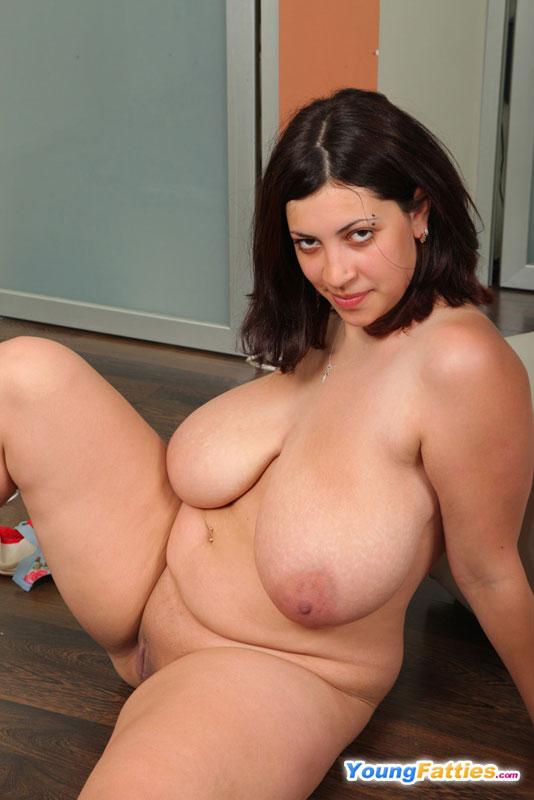 Natty the fatty nude