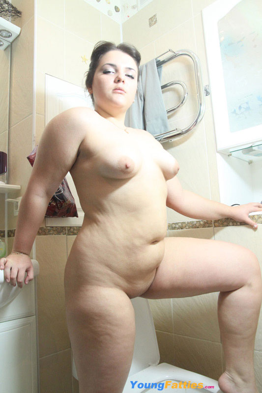Young Chubby Blonde Teen